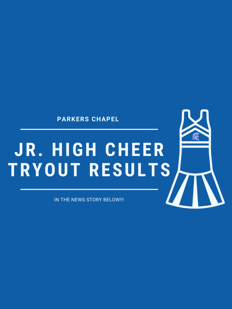 Jr. High Cheer Tryout Results
