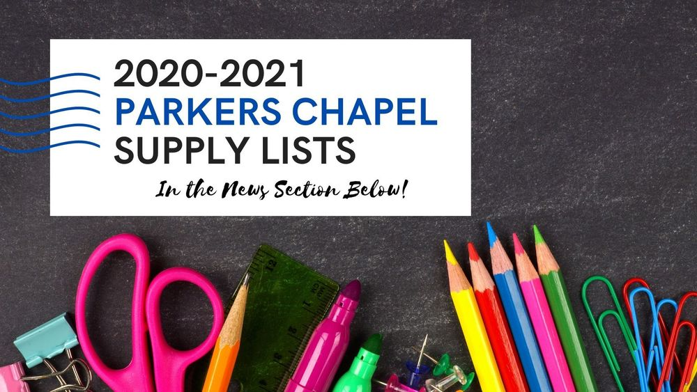 2020-2021 Elementary Supply List
