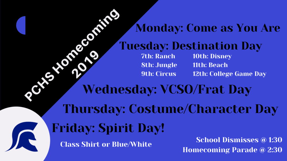 PC Homecoming 2019!