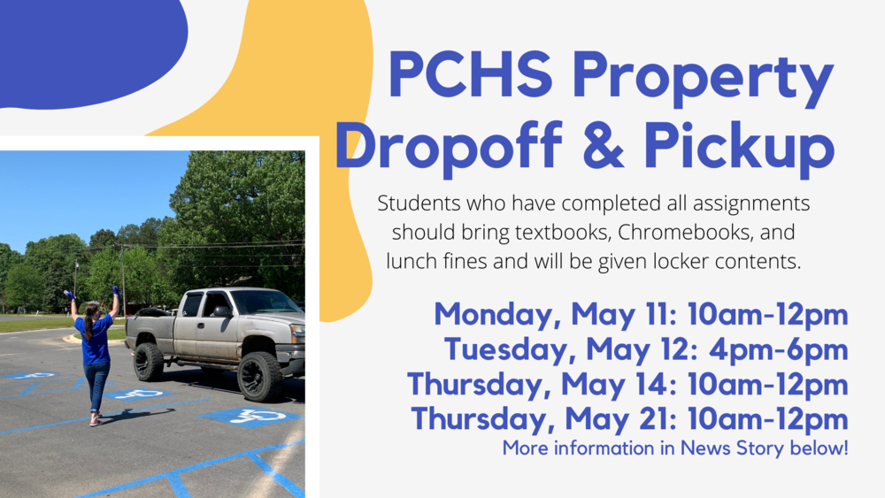 PCHS Property Dropoff & Pickup