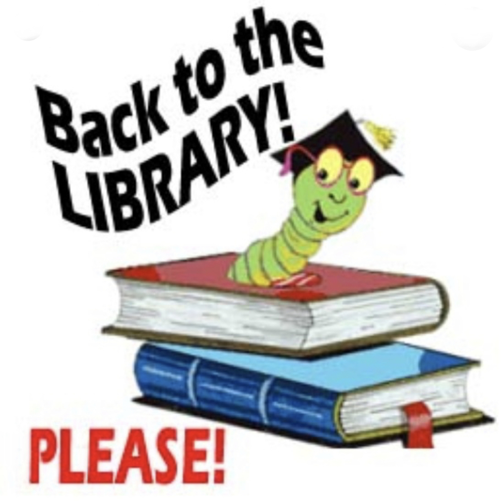 Library Book Return Scheduled