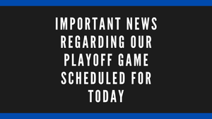 Important Information Regarding the Trojan Football Playoff Game