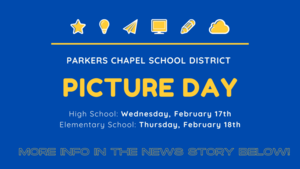 Elementary Picture Day  is Thursday, February 18th!