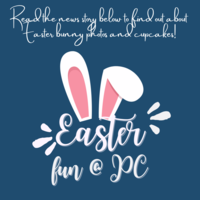 Easter Bunny Photos and Spring Cupcake Fundraiser