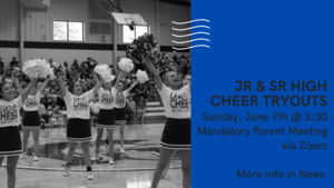 2020-2021 Cheer Tryouts Info