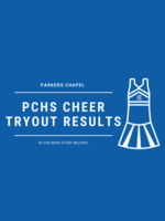 PCHS Cheer Tryout Results