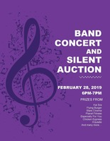 Band Concert and Silent Auction
