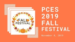 PCES Fall Festival Volunteer Signup!