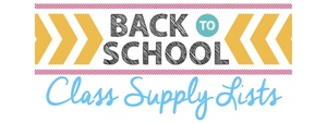 PreK-4th Grade Supply Lists