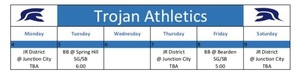 Trojan Athletics Feb 4-9
