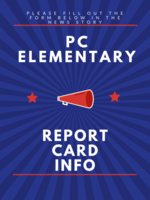 Elementary Report Card Pickup Form