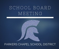 Called PC School Board Meeting