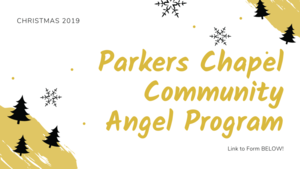 Parkers Chapel Community Angels Program Kickoff