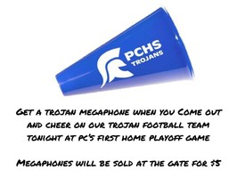 Trojan Megaphones for Sale!