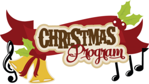 Dec. 13 - 6:00 p.m. Christmas Play and Musical